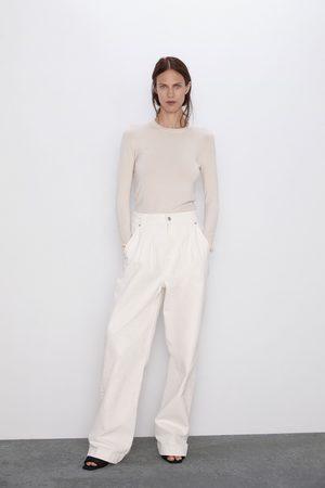 Zara Jersey básico manga larga