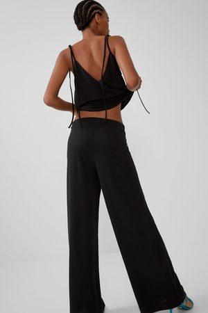 Pantalones Anchos De Zara Para Mujer Fashiola Es