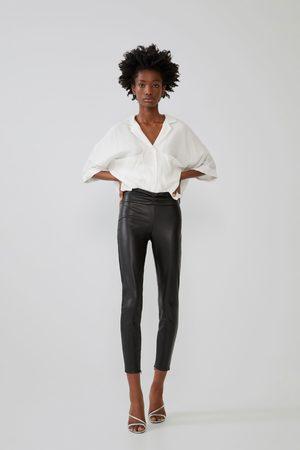 Zara Legging efecto piel