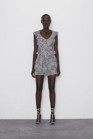 Zara Mujer Tops - Top volantes estampado