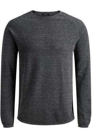 Jack & Jones Textured Knitted Pullover Men Brown