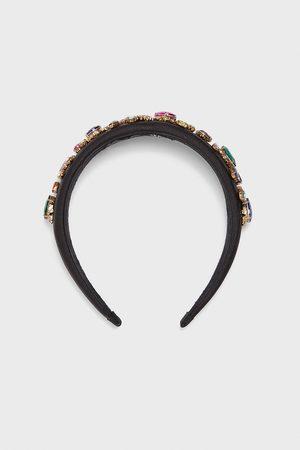 Zara Mujer Bisutería - Diadema satinada joyas