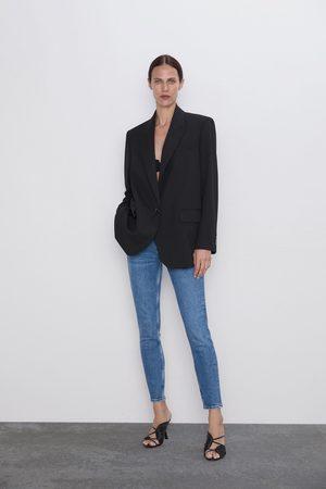 Zara Jeans zw premium 80's skinny bering blue