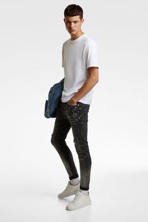 Zara Denim skinny fit efecto lavado