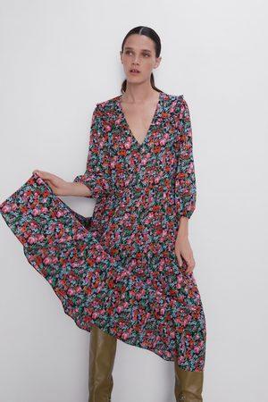 sección especial nuevo estilo de vida suave y ligero Vestido estampado floral
