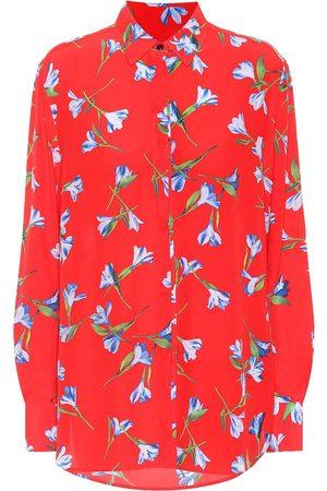 RAG&BONE Camisa Anderson de crepé floral