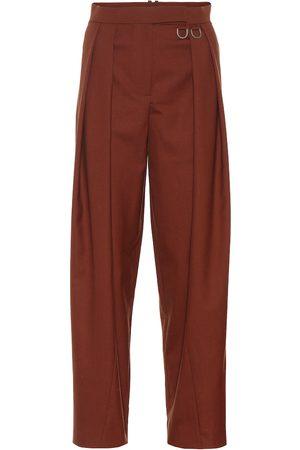 REJINA PYO Pantalones rectos Riley de lana