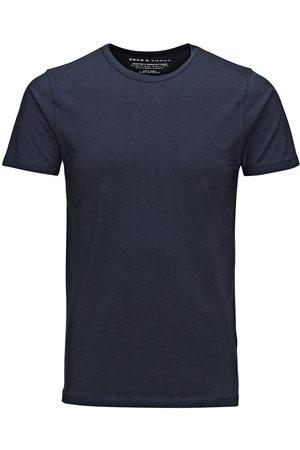 Jack & Jones Hombre Manga corta - Basic O-neck Regular Fit T-shirt Men Blue