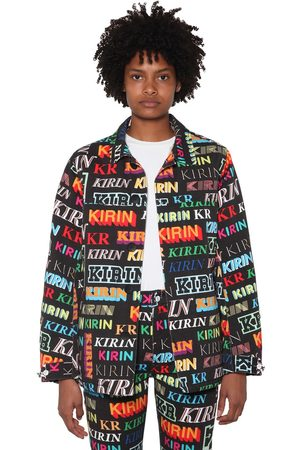 KIRIN Printed Cotton Denim Jacket