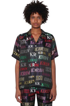 Kirin | Mujer Camisa De Pijama Con Logo Jacquard De Lúrex /multi 36