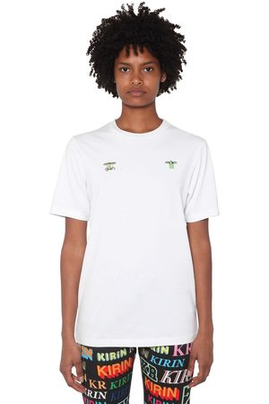KIRIN Front Embroidered Cotton Jersey T-shirt