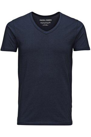 Jack & Jones Basic V-neck Regular Fit T-shirt Men Blue