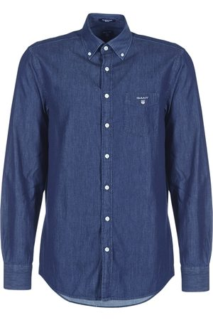 GANT Camisa manga larga THE INDIGO REG BD para hombre