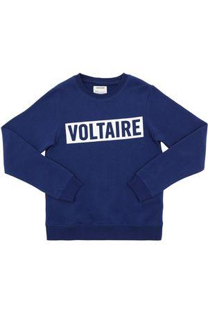 Zadig & Voltaire Sudadera De Algodón Con Logo Estampado