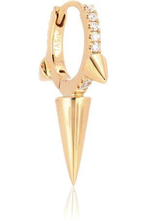 Maria Tash Argolla Triple Long Spike Eternity Ring de oro de 14 ct y diamantes