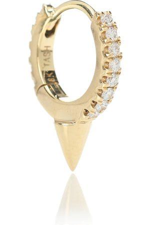 Maria Tash Arete único Single Spike Clicker de oro de 14 ct y diamante
