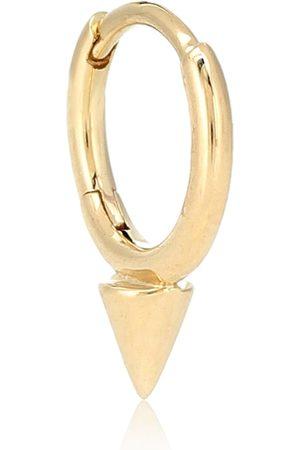 Maria Tash Arete único Spike Clicker de oro de 14 ct