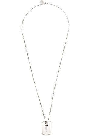 Alexander McQueen Collar con placa identificativa