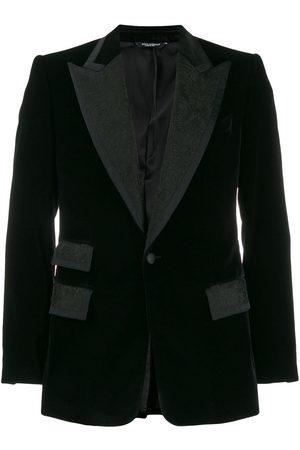 Dolce & Gabbana Blazer con solapas en contraste