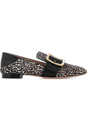 Bally Mocasines con motivo de leopardo