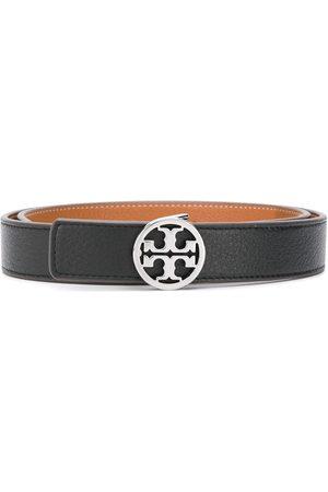 Tory Burch Cinturón con hebilla con logo