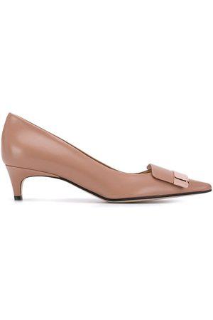 Sergio Rossi Zapatos de tacón con detalle de placa