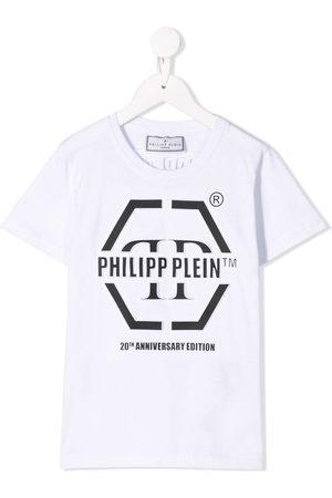 Philipp Plein Camiseta SS Anniversary 20th con cuello redondo