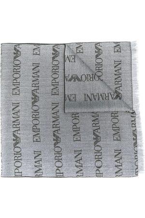 Emporio Armani Pañuelo con logo bordado