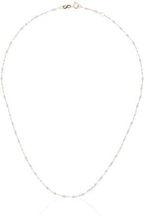 GIGI CLOZEAU Collar en oro rosa de 18kt con cuentas