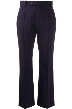 Chloé Pantalones de vestir con costuras expuestas