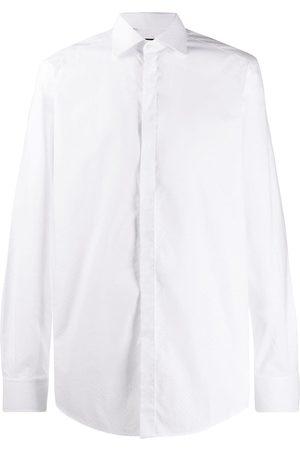 Dolce & Gabbana Camisa con motivo de lunares de manga larga