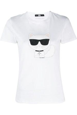 Karl Lagerfeld Camiseta Ikonik Choupette