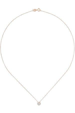 Dana Rebecca Designs Collar con estrella en oro rosa 14kt y diamantes