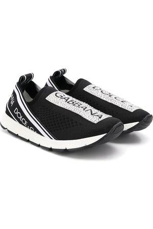 Dolce & Gabbana Zapatillas deportivas - Zapatillas con logo estampado