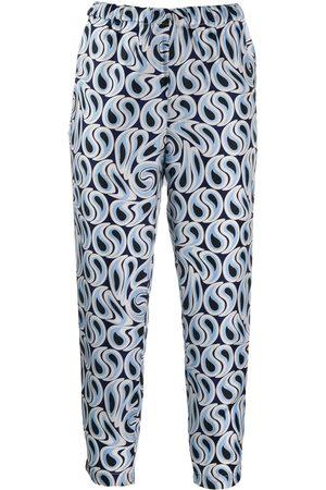 Marni Pantalones capri estampados