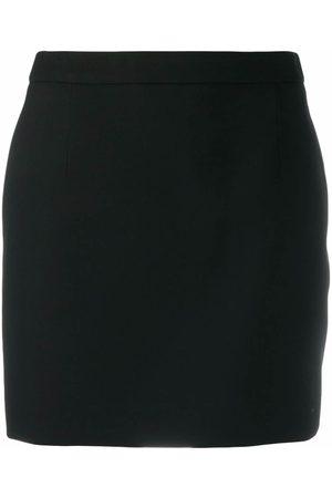 Saint Laurent Mujer Minifaldas - Minifalda trapezoidal