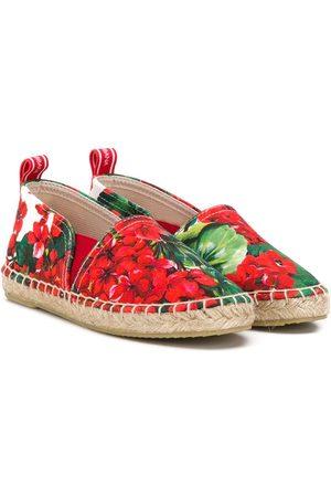 Dolce & Gabbana Alpargatas con motivo floral