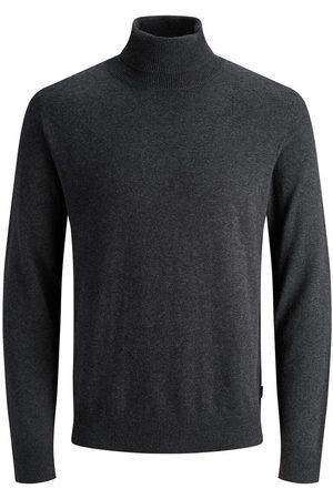 Jack & Jones Rollneck Knitted Pullover Men Grey