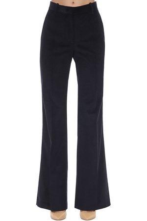 Victoria Beckham | Mujer Pantalones Acampanados De Pana Con Cintura Alta 6