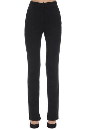 Victoria Beckham | Mujer Pantalones Skinny De Cady Texturizados 8