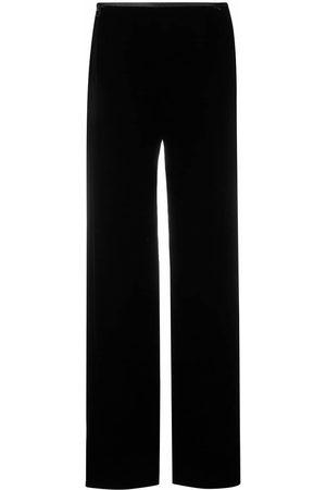 Emporio Armani Mujer Pantalones de talle alto - Pantalones de talle alto