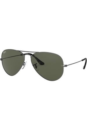 Ray-Ban RB3025 Aviator Large Metal 919031 Sand Trasparent Grey