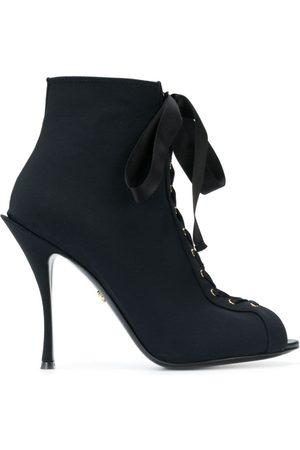 Dolce & Gabbana Botines Bette con puntera abierta