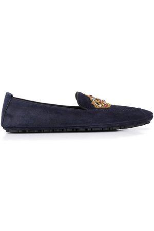 Dolce & Gabbana Mocasines con parche de corona