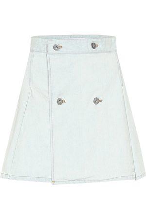 MATTHEW ADAMS DOLAN Minifalda de jeans