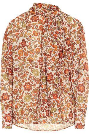 DODO BAR OR Blusa de crepé floral