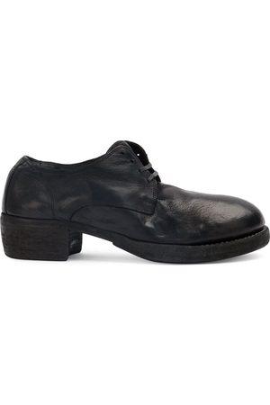 Guidi Zapatos de cordones con tacón