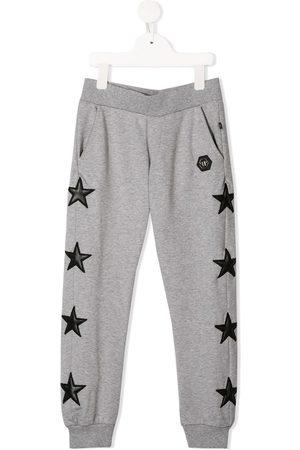 Philipp Plein Chándals - Pantalones de chándal con parches de estrellas