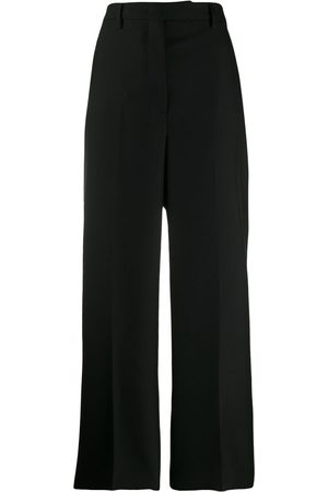 Prada Mujer Pantalones de talle alto - Pantalones de vestir de talle alto