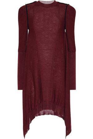 Stella McCartney Vestido asimétrico de lana